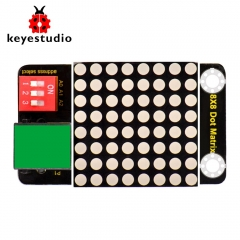 Keyestudio RJ11 EASY plug 8x8 LED Matrix Module( Address Select ) for Arduino
