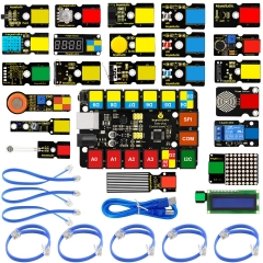 2019 NEW! KEYESTUDIO EASY PLUG Super Starter Kit For Arduino STEM EDU