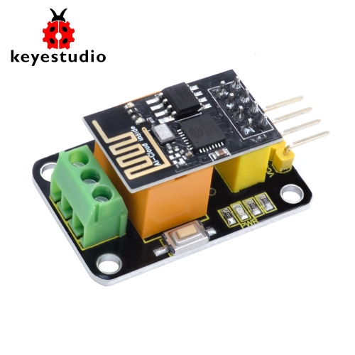 keyestudio ESP-01 Wifi  3V Relay Module For Arduino